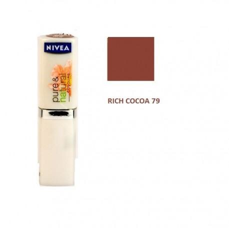 Rouge à Lèvres  Pure & Natural sous Blister 79 Riche Cocoa