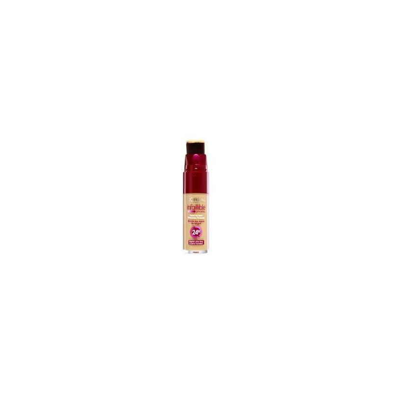 Infaillible 25ml 145 Teint Fond L'oréal Paris De Beige Pinceau Rosé R345AjqcLS