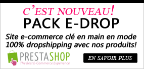 Création site cosmétique en dropshipping - Pack E-drop by Destock-europe.com
